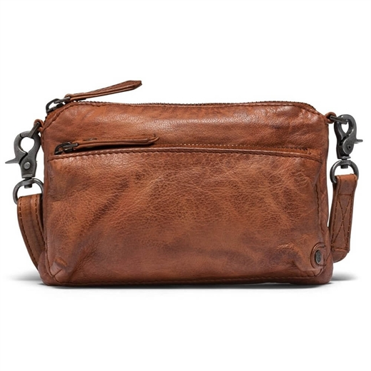 Image of   Depeche - Casual Chic Small Clutch 10054 - Vintage Cognac
