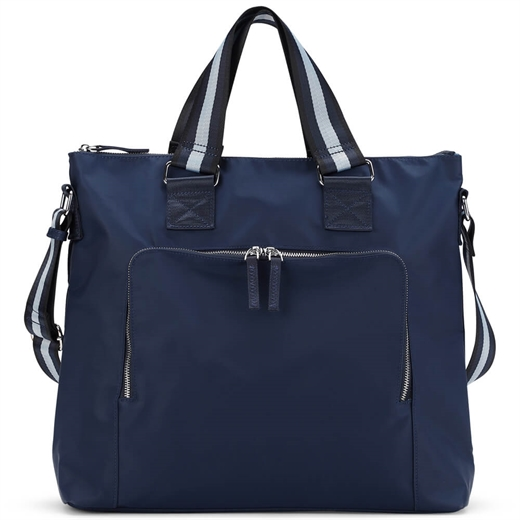 Image of   Adax - Novara Frida Shopper 106712 - Navy