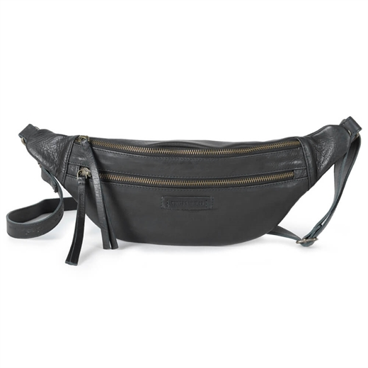 Image of Aunts & uncles - Jamie's Orchard - Banana Bum bag - Jet Black