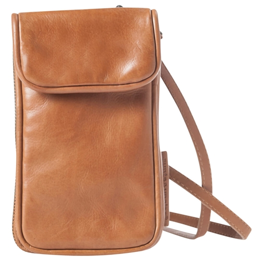 Image of Aunts & uncles - Jamie's Orchard - Cloudberry Phone Bag - Cognac