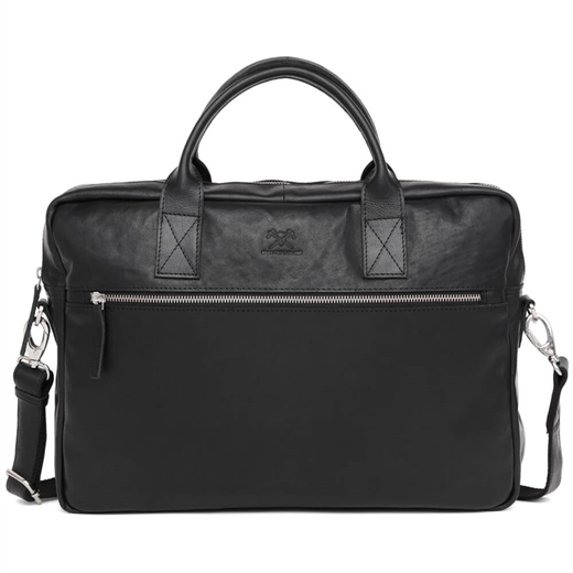 "Image of   Adax - Catania Tobias 13"" Briefcase 277546 - Black"