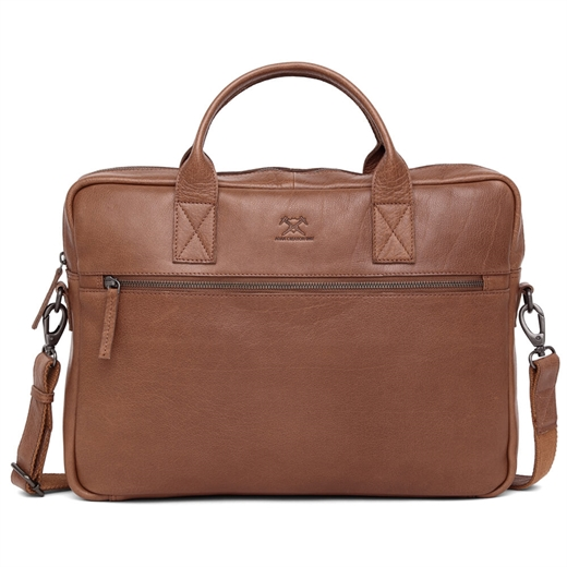 Image of   Adax - Prato Tobias Briefcase 277549 - Cognac