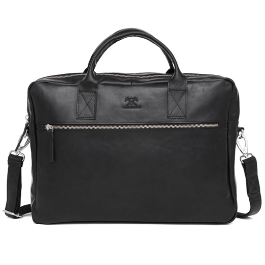 "Image of   Adax - Catania Axel 15,6"" Briefcase 277646 - Black"