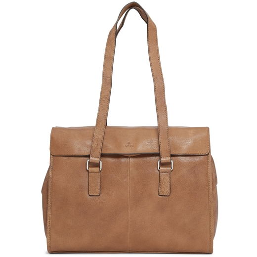 Image of   Adax - Napoli Simone 13'' Working Bag - Cognac