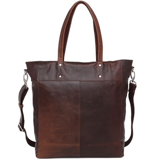 Image of   Adax - Catania Matti Shopper - Dark Brown
