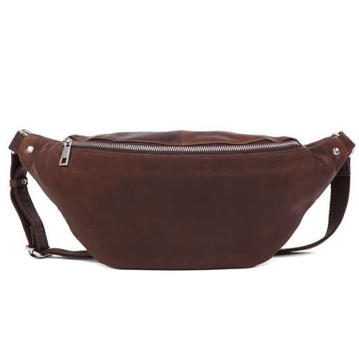 Image of   Adax - Catania Henrik Bumbag - Dark Brown