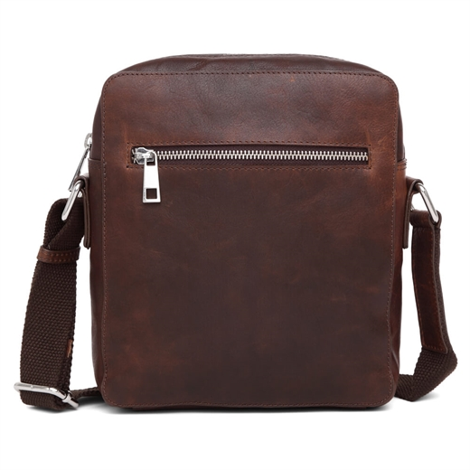 Image of   Adax - Catania Aage Messenger Bag - Dark Brown