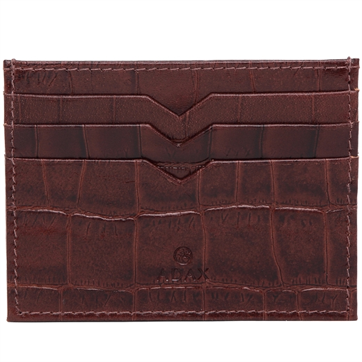 Image of   Adax - Piemonte Mi Credit card holder - Brown