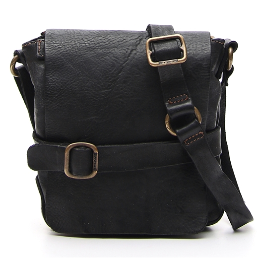 Image of   Campomaggi - Small Crossbody Bag - Black