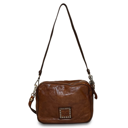 Image of   Campomaggi - Shoulderbag Small - Cognac
