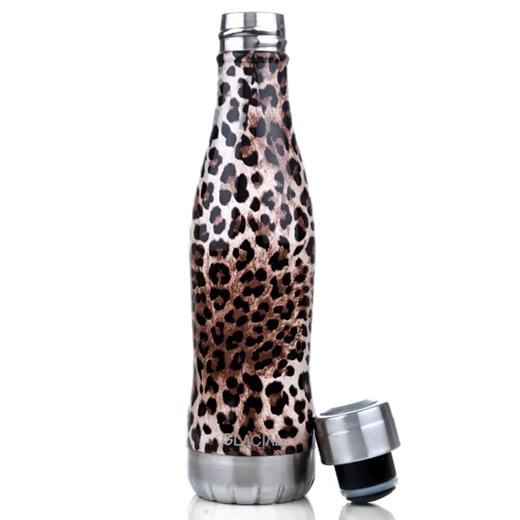 Image of   Glacial - Drikkeflaske 400 ml - Wild Leopard