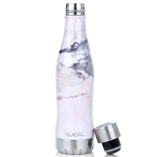 Image of   Glacial - Drikkeflaske 400 ml - Pink Marble