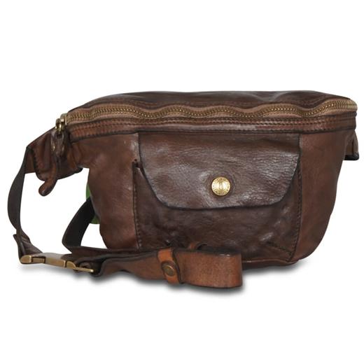 Image of   Campomaggi - Bum Bag with pocket - Brown