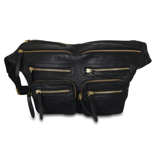 Image of   ReDesigned - Ly Bum Bag - Black & Gold
