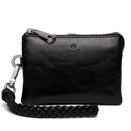 Image of   Adax - Salerno Nille Small Clutch 130269 - Black