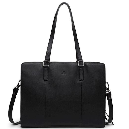 "Image of   Adax - Napoli Broke 13,3"" Working Bag 276625 - Black"