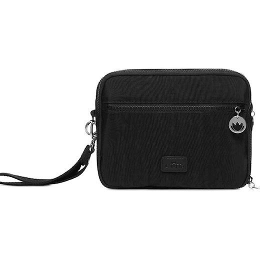 Image of   Il Tutto - Milo Nappy Changer All-in-One - Black & Silver