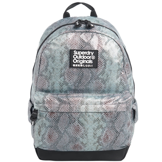 Superdry - Glitter Scale Montana Backpack - Blue